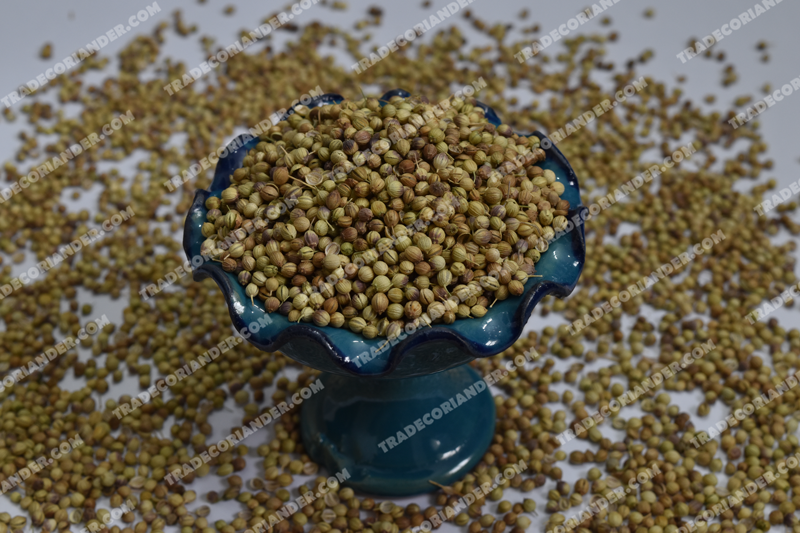 How to make dried coriander seed?